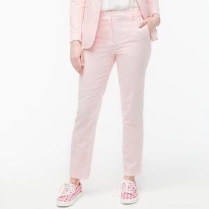J crew linen cotton Holland pants pink 14 nwot